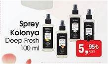 Deep Fresh Sprey Kolonya 100 ml image