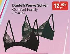 Bim Comfort Family Dantelli Penye Sütyen