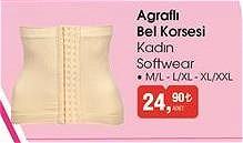 Softwear Agraflı Bel Korsesi Kadın image