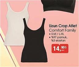 Comfort Family Uzun Crop Atlet image