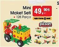 Pilsan Mini Maket Seti 128 Parça image