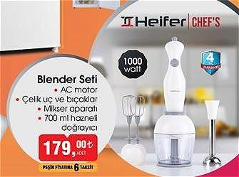 Heifer Chef's Blender Seti 1000 W image