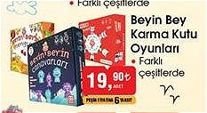 Beyin Bey Karma Kutu Oyunları/Adet image