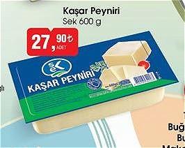 Sek Kaşar Peyniri 600 g image