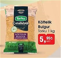 Torku Köftelik Bulgur 1 kg image