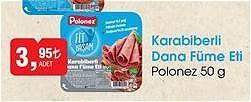 Polonez Karabiberli Dana Füme Eti 50 g image