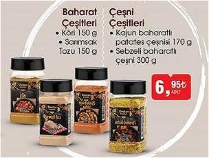 Baharat/Çeşni Çeşitleri/Adet image