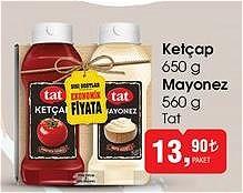 Tat Ketçap 650 g Mayonez 560 g image