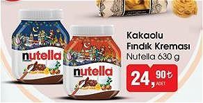 Nutella Kakaolu Fındık Kreması 630 g image