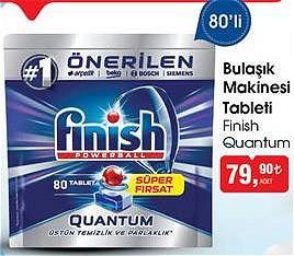 Finish Quantum Bulaşık Makinesi Tableti 80'li image