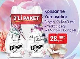 Bingo 2x1440 ml Konsantre Yumuşatıcı image