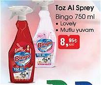 Bingo 750 ml Toz Al Sprey image