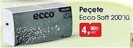 Ecco Soft 200'lü Peçete image