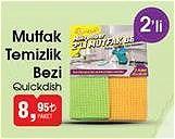 Quickdish Mutfak Temizlik Bezi 2'li image