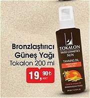 Tokalon Bronzlaştırıcı Güneş Yağı 200 ml image