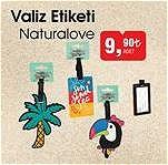 Naturalove Valiz Etiketi image
