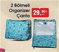 2 Bölmeli Organizer Çanta image