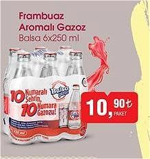 Balsa 6x250 ml Frambuaz Gazoz image