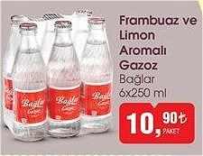Bağlar 6x250 ml Frambuaz ve Limon Aromalı Gazoz image