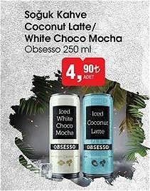 Obsesso 250 ml Soğuk Kahve Coconut Latte / White Choco Mocha image