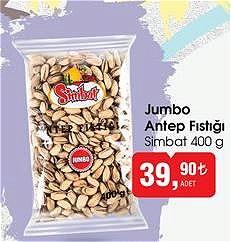 Simbat 400 g Jumbo Antep Fıstığı image