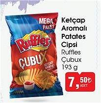 Ruffles Çubux 193 g Ketçap Aromalı Patates Cipsi image
