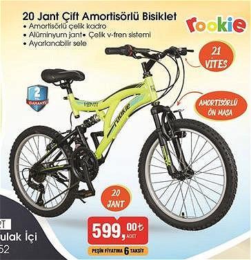 Rookie 20 Jant Çift Amortisörlü Bisiklet image