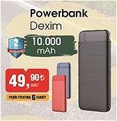 Dexim Powerbank 10000 mah  image