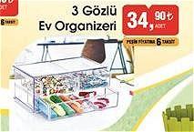 3 Gözlü Ev Organizeri image