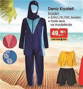Deniz Kıyafeti Kadın image