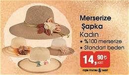 Merserize Şapka Kadın image