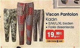 Viscon Pantolon Kadın image