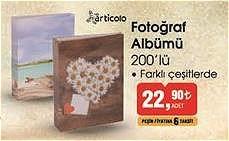 Articolo Fotoğraf Albümü 200'lü image