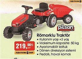 Pilsan Römorklu Traktör  image