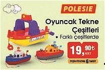 Polesie Oyuncak Tekne Çeşitleri/Adet image