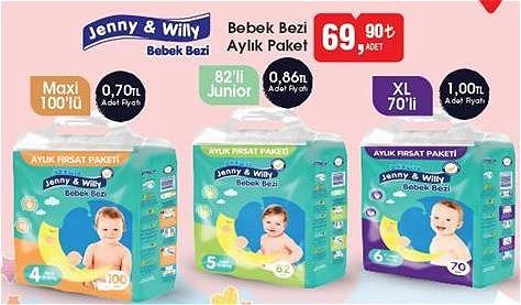 Jenny&Willy Bebek Bezi Aylık Paket image