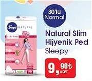 Sleepy Natural Slim Hijyenik Ped 30'lu Normal image
