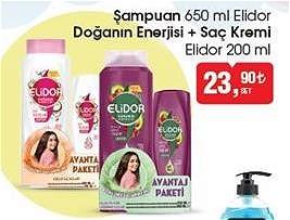 Elidor Doğanın Enerjisi Şampuan 650 ml+Saç Kremi 200 ml image