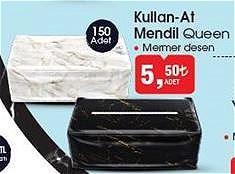 Queen Kullan At Mendil 150 Adet image