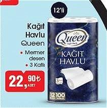 Queen Kağıt Havlu 12'li image