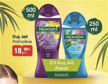 Palmolive Duş Jeli 500 ml+250 ml 2'li Duş Jeli Paketi image