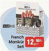Mara French Manikür Seti image