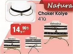 Naturalove Choker Kolye 4'lü image