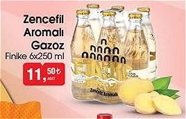 Finike Zencefil Aromalı Gazoz 6x250 ml image