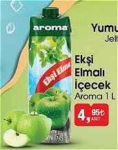 Aroma Ekşi Elmalı İçecek 1 L image