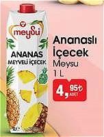 Meysu Ananaslı İçecek 1 L image