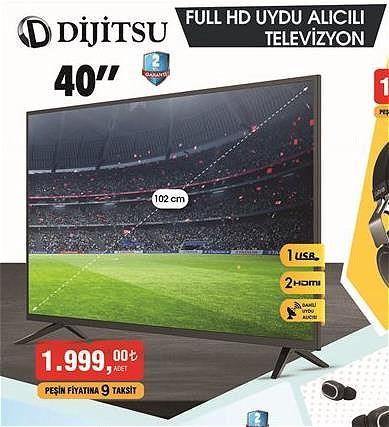 """Dijitsu 40"""" Full HD Uydu Alıcılı Televizyon image"""
