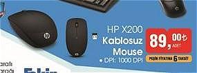 Hp X200 Kablosuz Mouse image