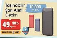 Dexim Taşınabilir Şarj Aleti 10000 mAh image