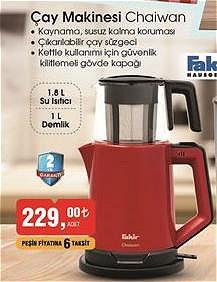 Fakir Chaiwan Çay Makinesi  image